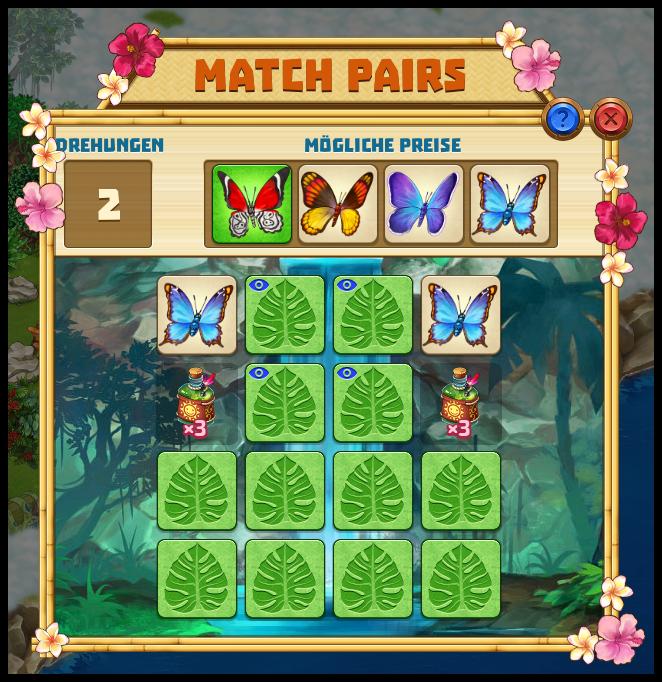 Schmetterlinge Fangen Spiel